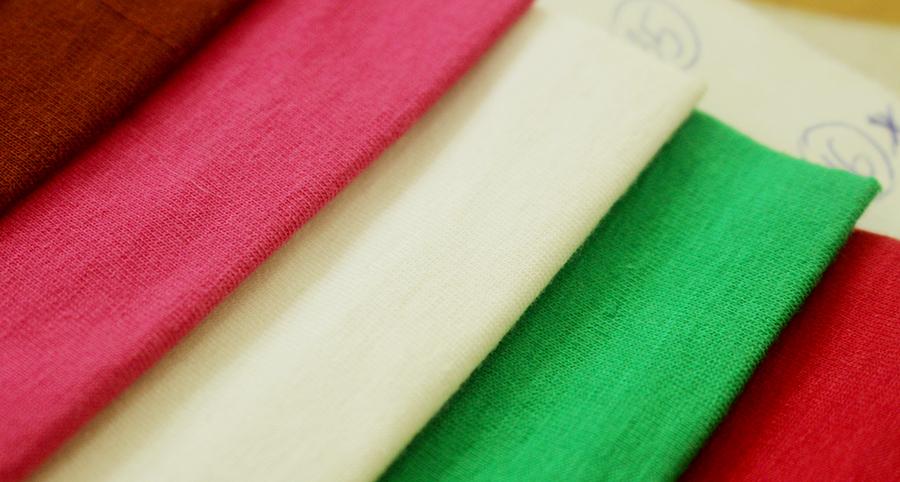 Các loại mẫu vải-Vải singer may áo thun