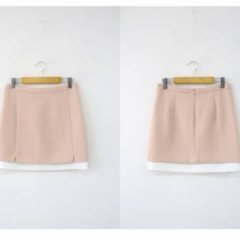 Chân váy chữ a ngắn(skirt straight)