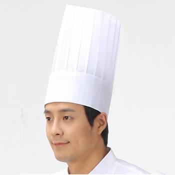 Mũ đầu bếp giấy 01