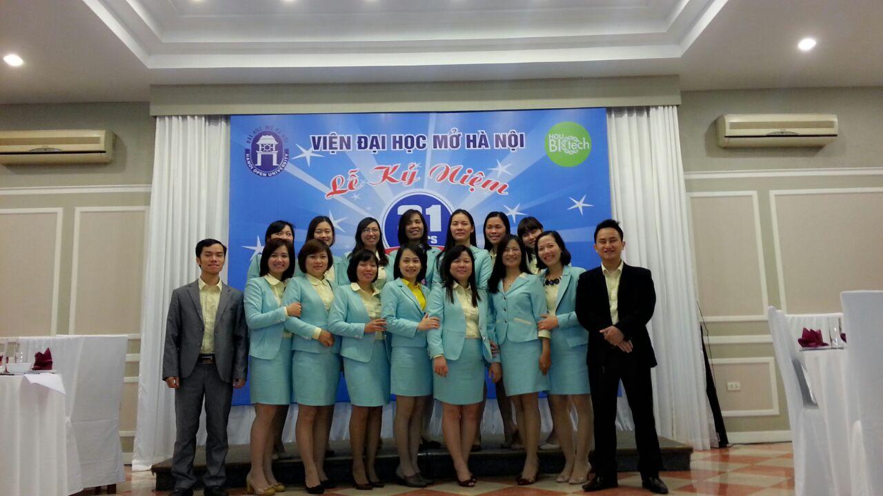 đồng phục vest nữ viện đại học mở hà nội