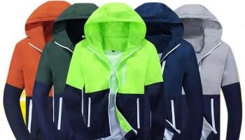 Lựa chọn nguyên phụ liệu may đồng phục áo khoác gió đẹp như hàng xuất khẩu.
