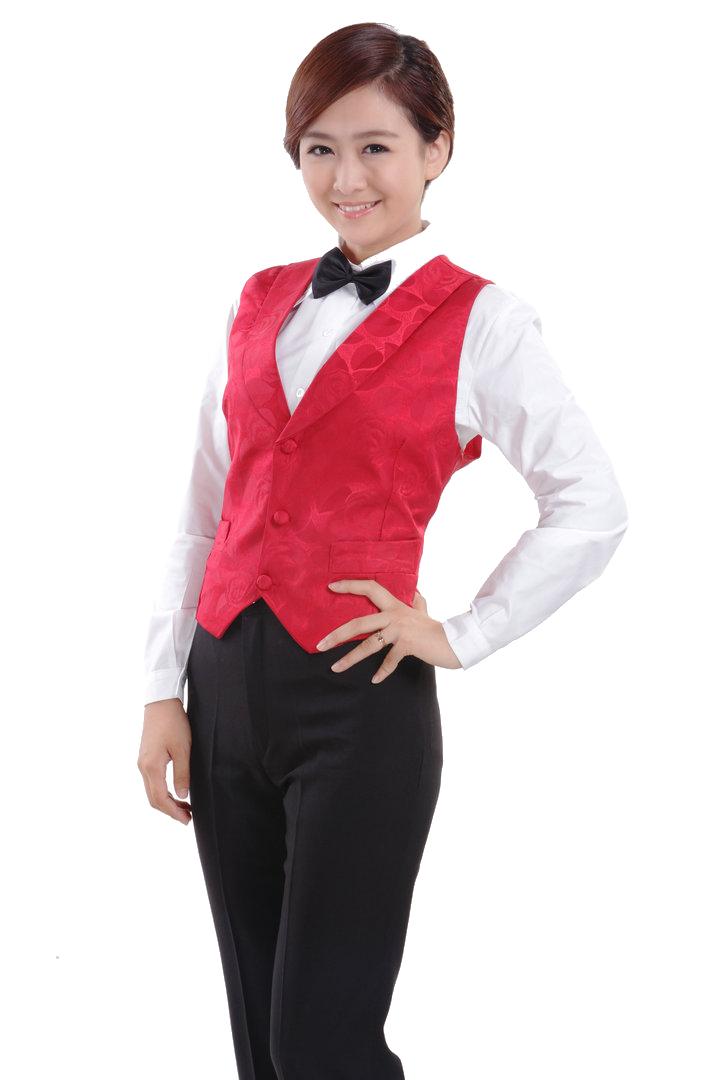 đồng phục gile nam nữ 018