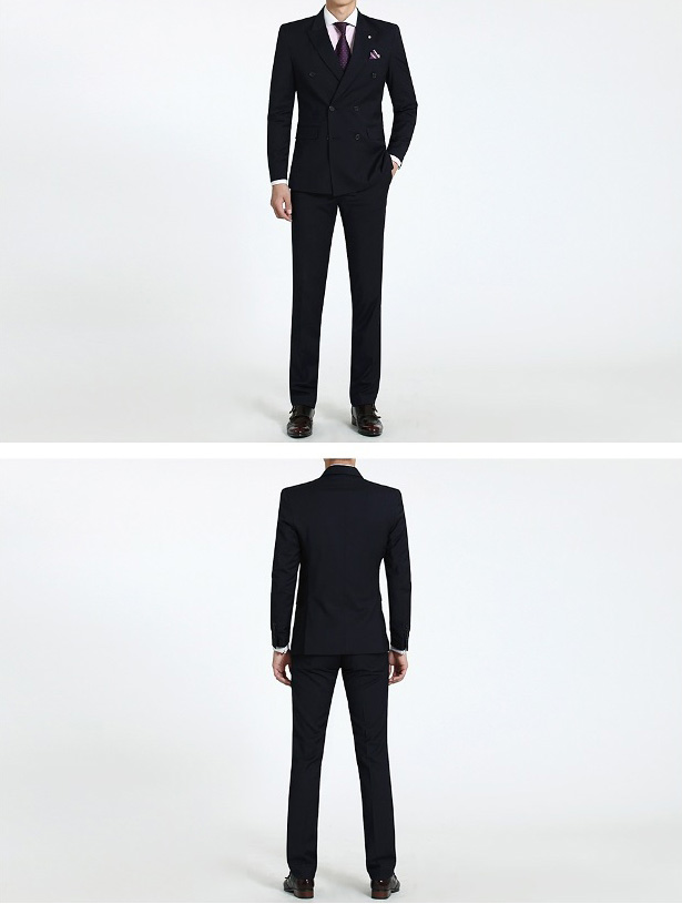 áo vest nam 2 hàng cúc 2
