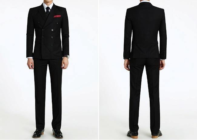 đồng phục vest nam 2 hàng cúc 2