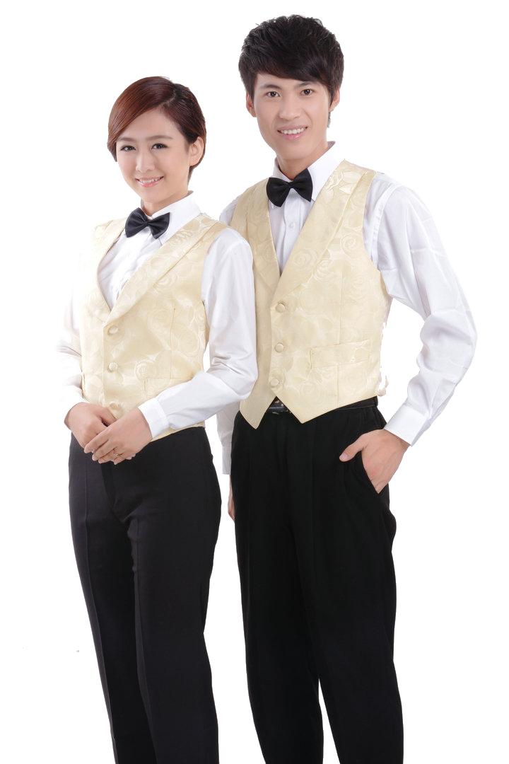 đồng phục gile nam nữ 013