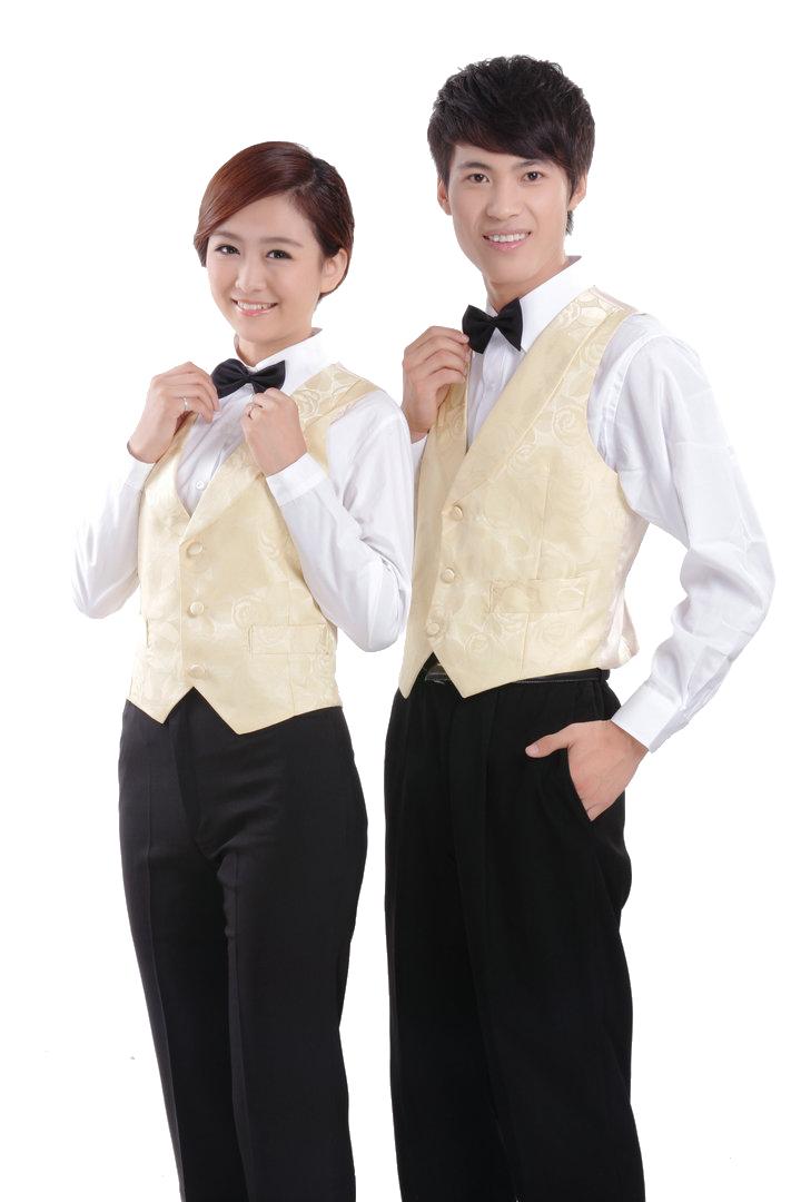 đồng phục gile nam nữ 014