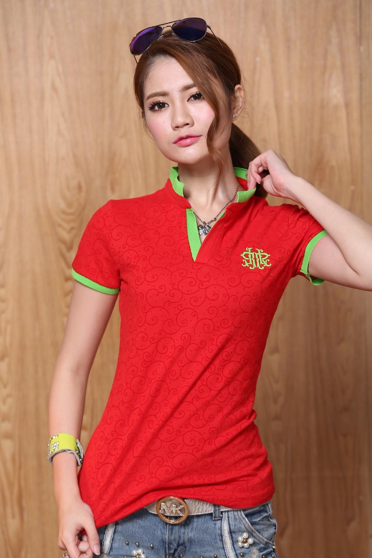 đồng phục áo phông nữ 2 - Đồng phục Mantis