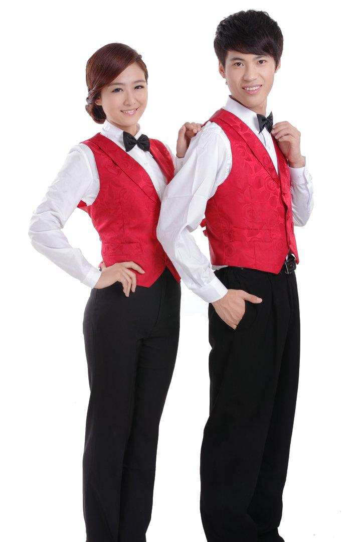 đồng phục gile nam nữ 017