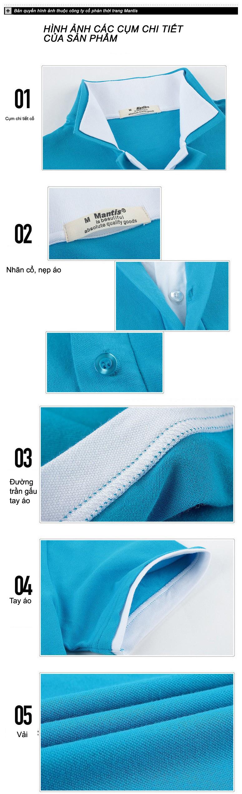 Đồng phục áo phông nam - Đồng phục Mantis