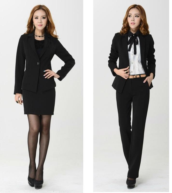 Đồng phục vest nữ 8 có thể kết hợp hoàn hảo với quần âu và zuyp