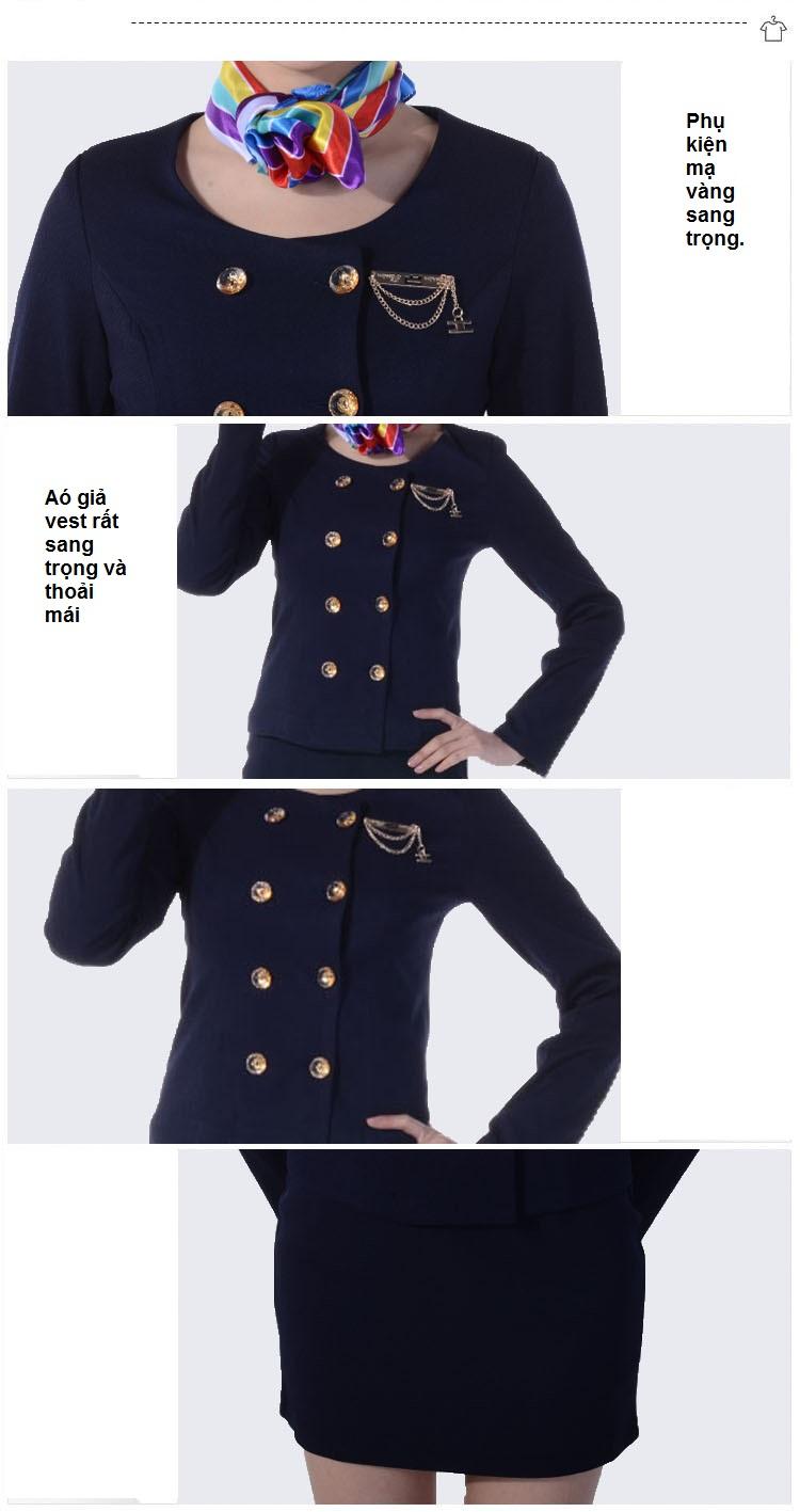 Chi tiết mẫu đồng phục lễ tân khách sạn