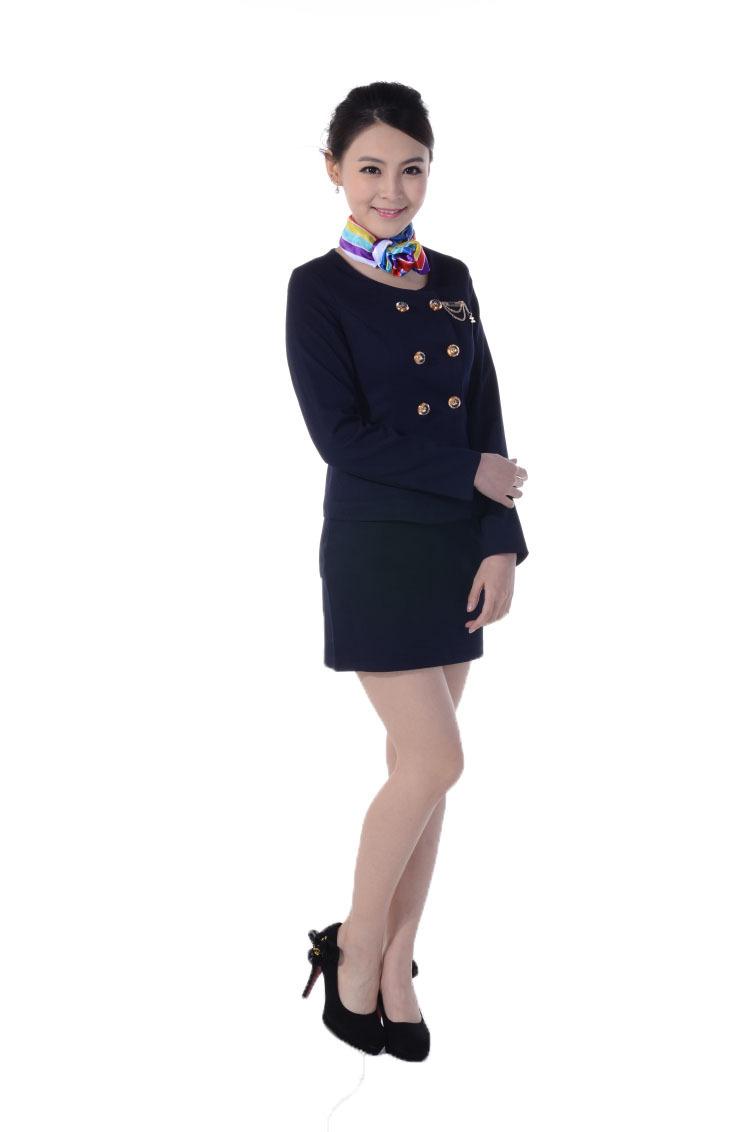 Mẫu đồng phục lễ tân khách sạn đẹp