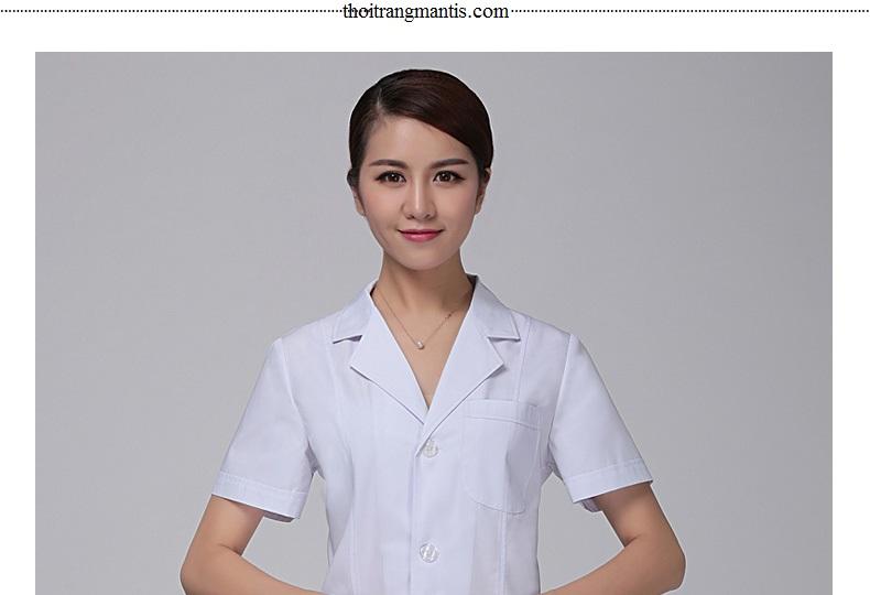 Đồng phục bác sĩ nữ mùa hè - Hình ảnh 1