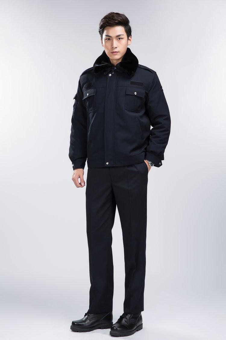 Mẫu áo đồng phục cho nhân viên bảo vệ vào mùa đông