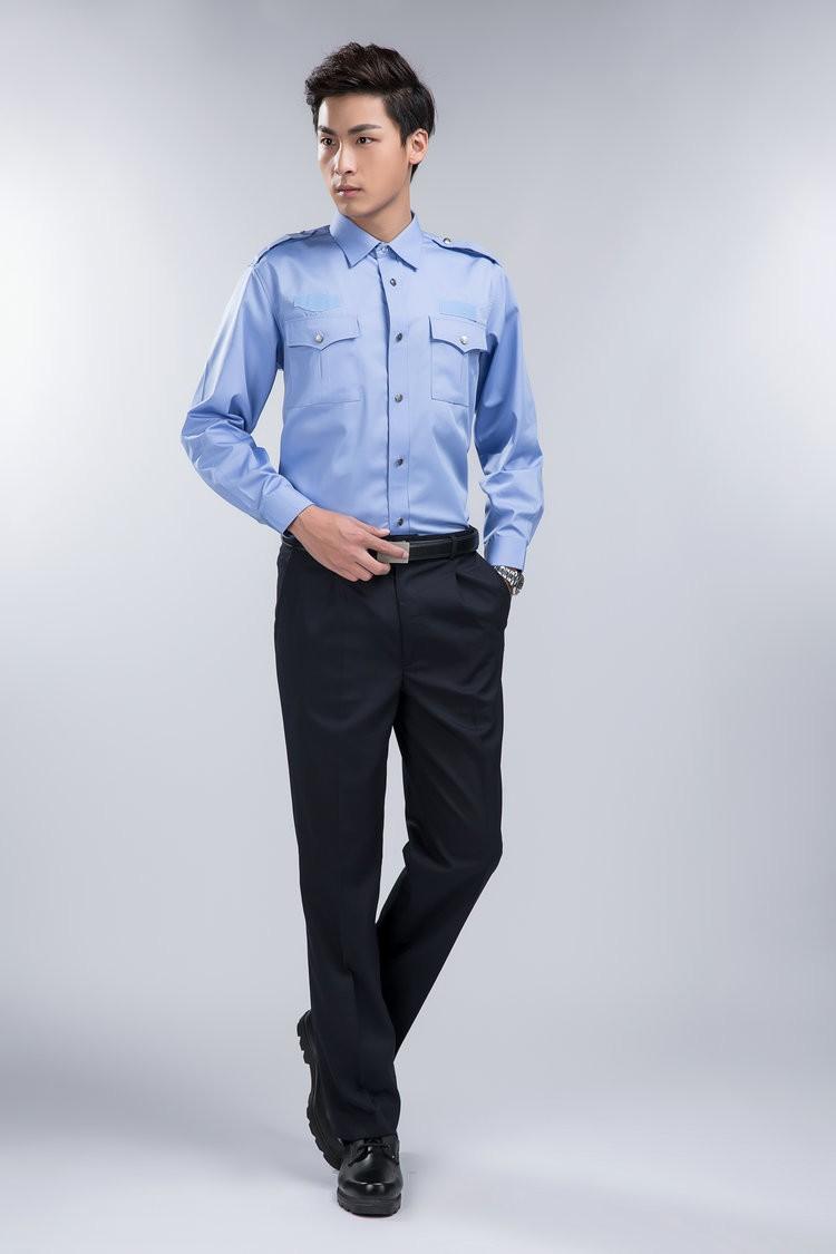Áo đồng phục bảo vệ cho nhân viên trông của hàng, công ty