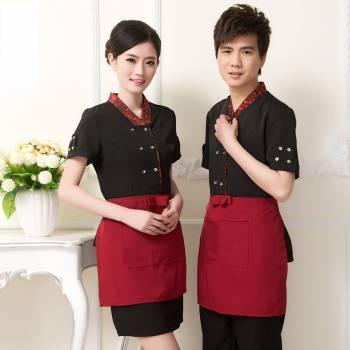 May đồng phục nhân viên nhà hàng đẹp