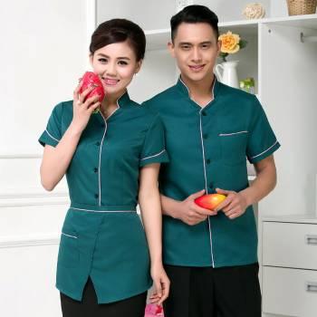 Mẫu áo nhân viên phục vụ nhà hàng