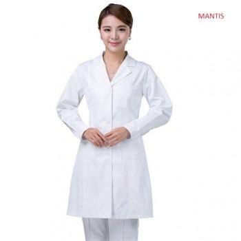 Áo bác sĩ nữ, blouse trắng cho phòng thí nghiệm y học