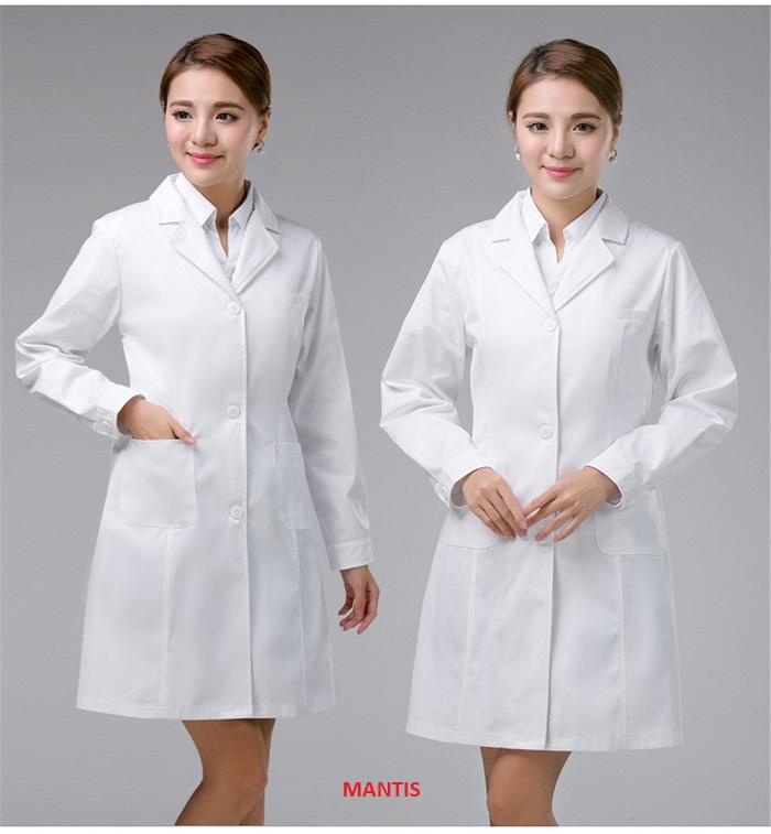 Thiết kế áo đồng phục bác sĩ nữ