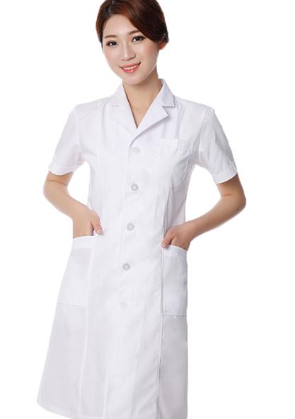 Mẫu áo cộc tay của bác sĩ nữ