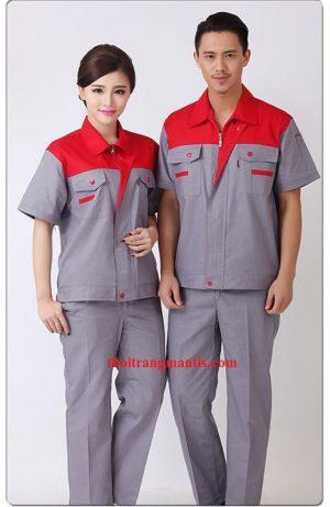 Công ty may đồng phục công nhân giá rẻ tại Hà Nội - Mantis
