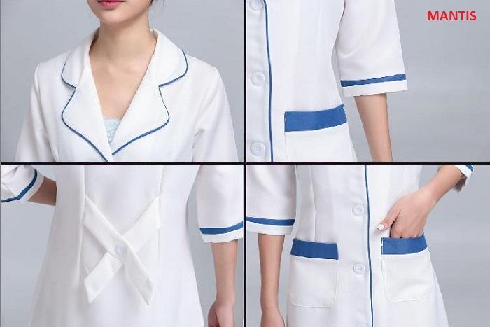 Hình ảnh chi tiết áo điều dưỡng nữ