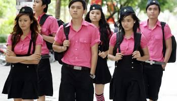 Công ty Mantis chuyên may đồng phục học sinh trên toàn quốc