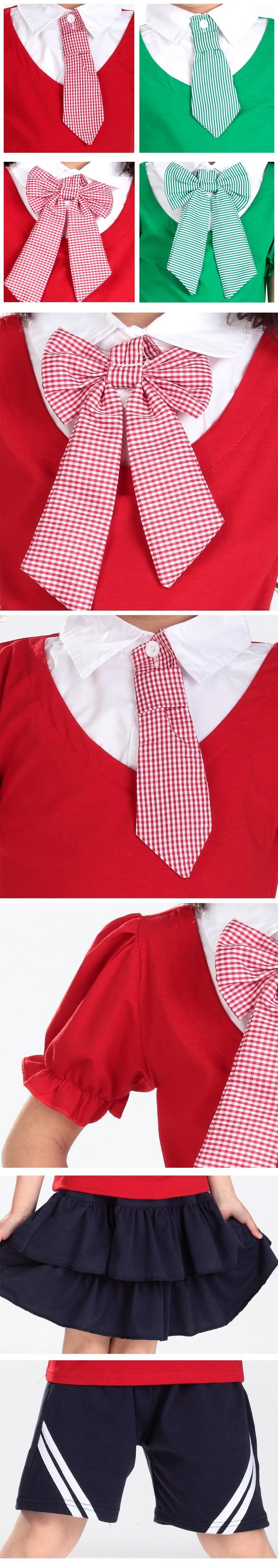 Các chi tiết mẫu đồng phục học sinh tiểu học - Đồng phục Mantis