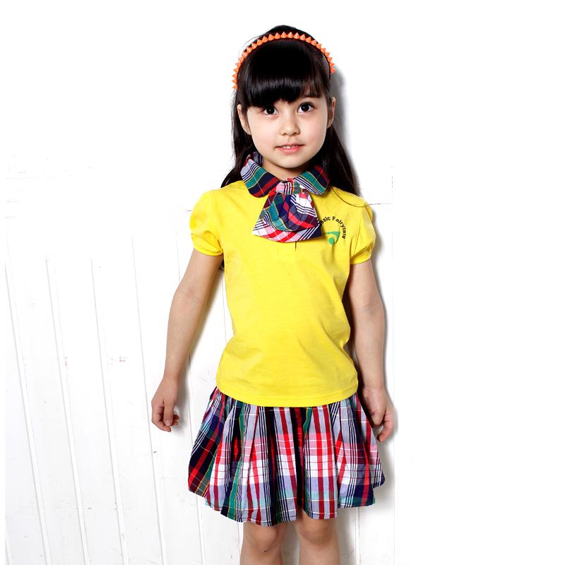Mẫu đồng phục áo thun học sinh tiểu học đẹp