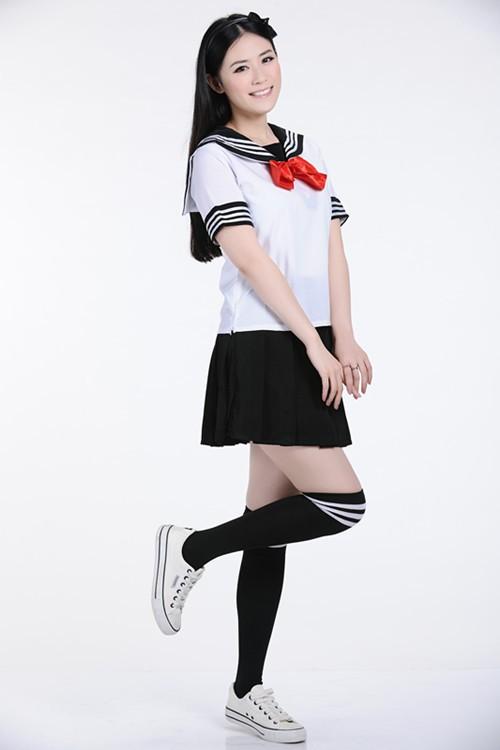 Mẫu đồng phục học sinh trung học nữ đẹp