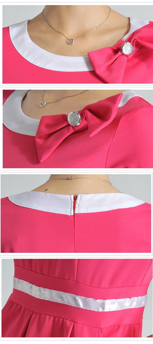 Thiết kế váy đồng phục nhân viên spa mùa hè