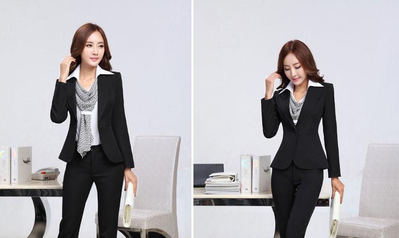 đồng phục vest nữ đen 026