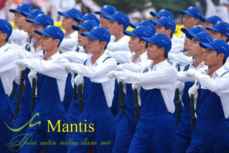 Đồng phục bảo hộ lao động Mantis