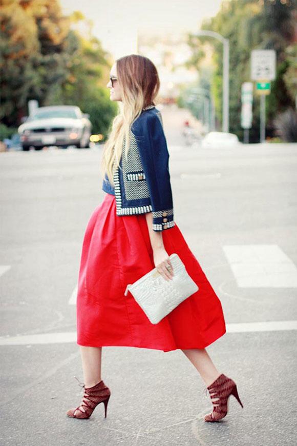Váy cho người chân to
