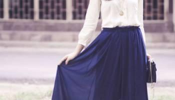 Mẹo hay chọn váy cho người chân to
