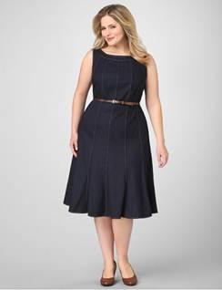 Váy suông cho người béo