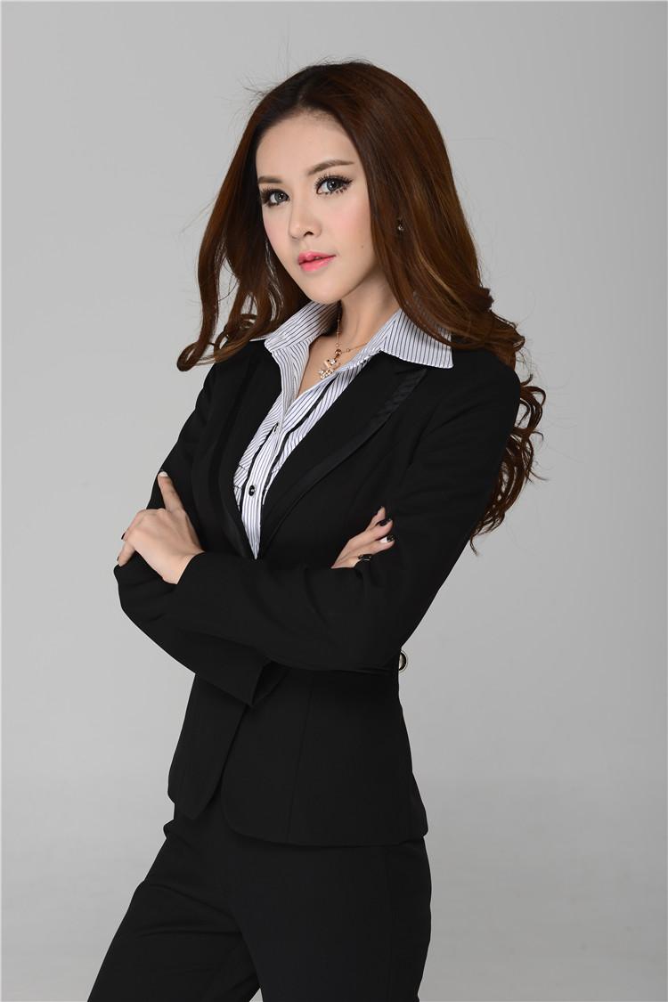 đồng phục vest nữ 7 đen, đẹp