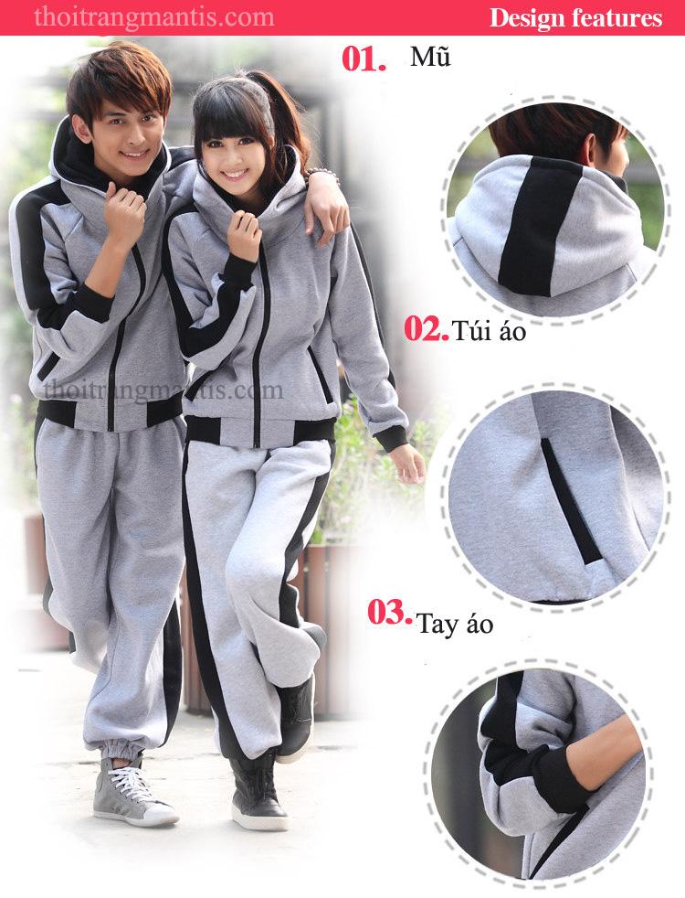 Mẫu đồng phục áo khoác nỉ học sinh cấp 3 tại Hà Nội
