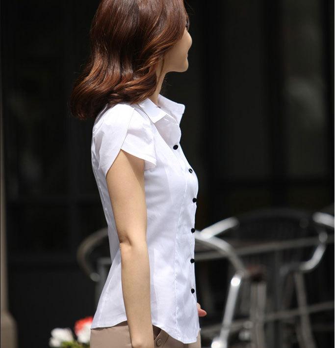 mẫu đồng phục sơ mi nữ 16 trắng đẹp2