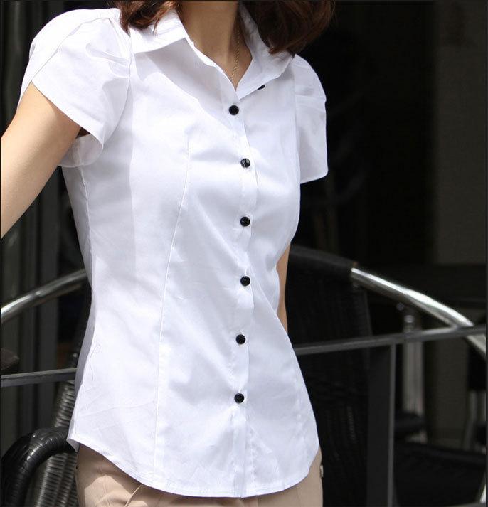 mẫu đồng phục sơ mi nữ 16 trắng đẹp3