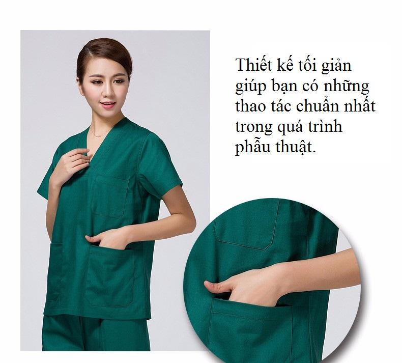 Mẫu đồng phục phòng mổ cho bác sĩ phẫu thuật