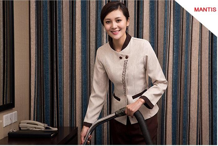 Hình ảnh mẫu đồng phục buồng phòng khách sạn đẹp