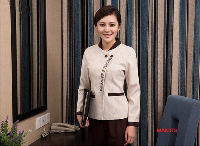 Mẫu đồng phục buồng phòng khách sạn đẹp