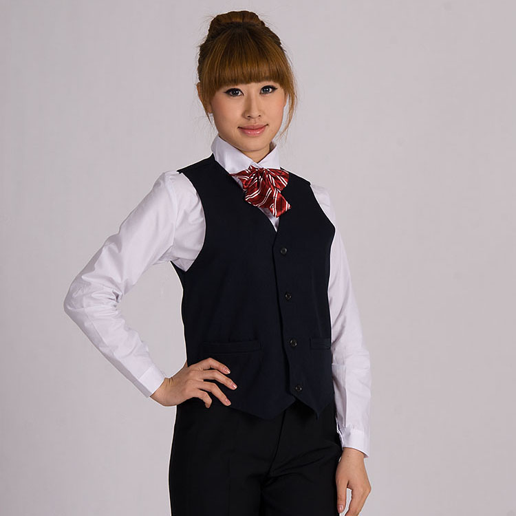 đồng phục gile nữ năng động 1