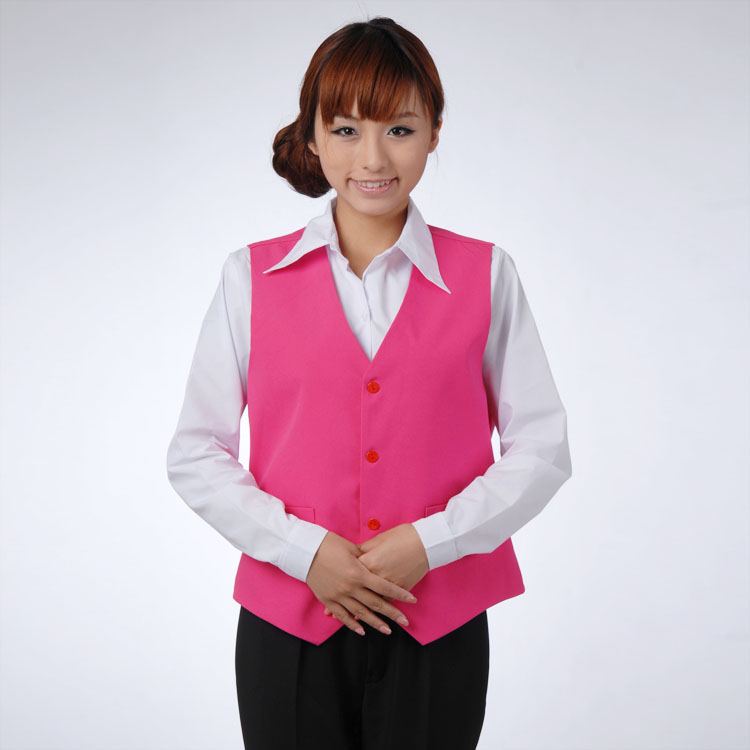 đồng phục gile nữ năng động 3