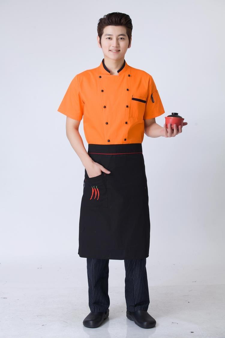 Mẫu áo đầu bếp nam