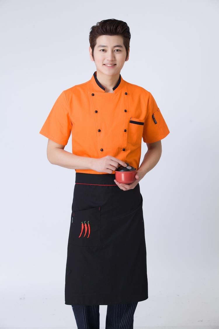 Mẫu đồng phục áo đầu bếp nam đẹp