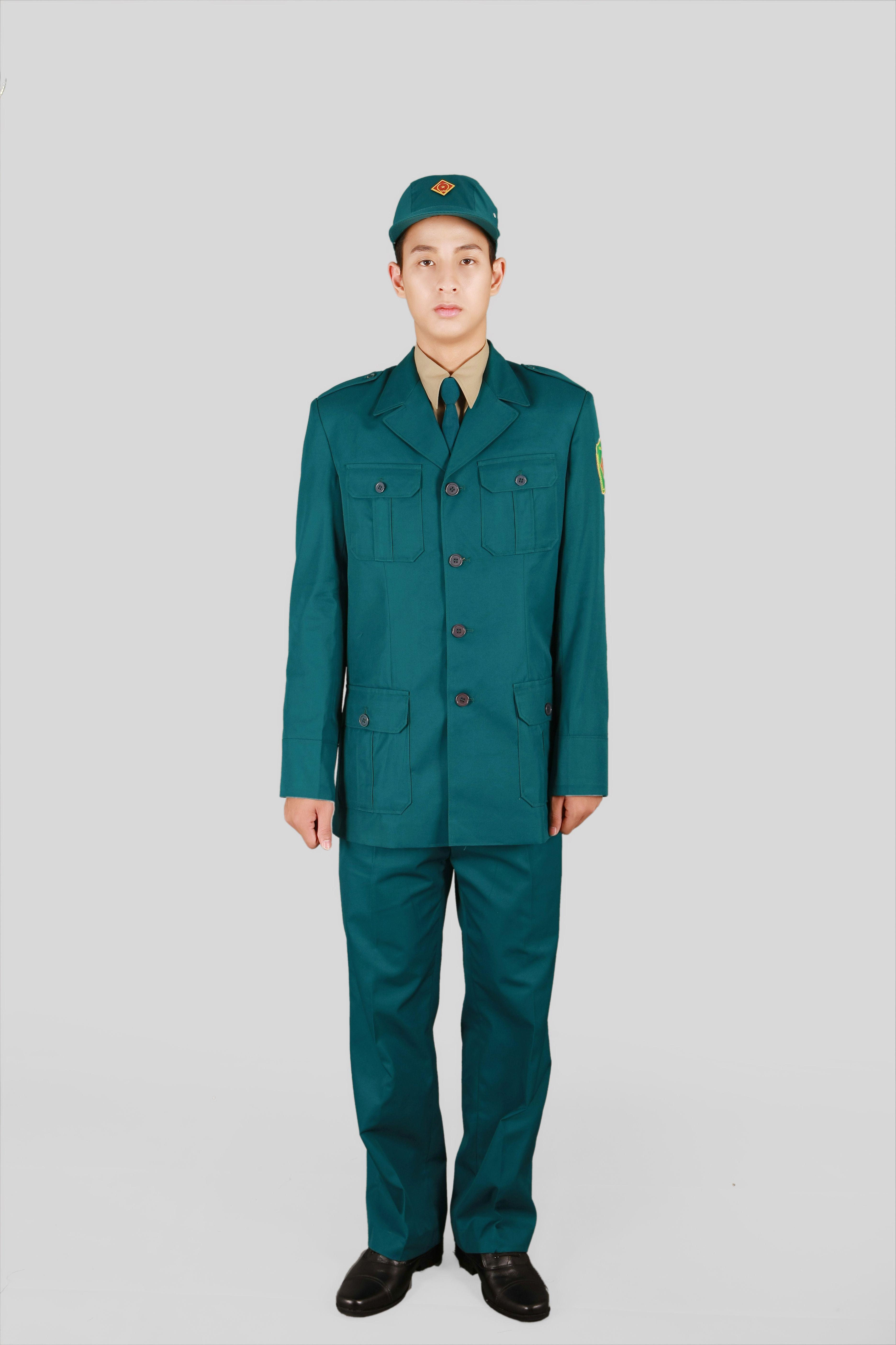 Quần áo dân quân tự vệ nam