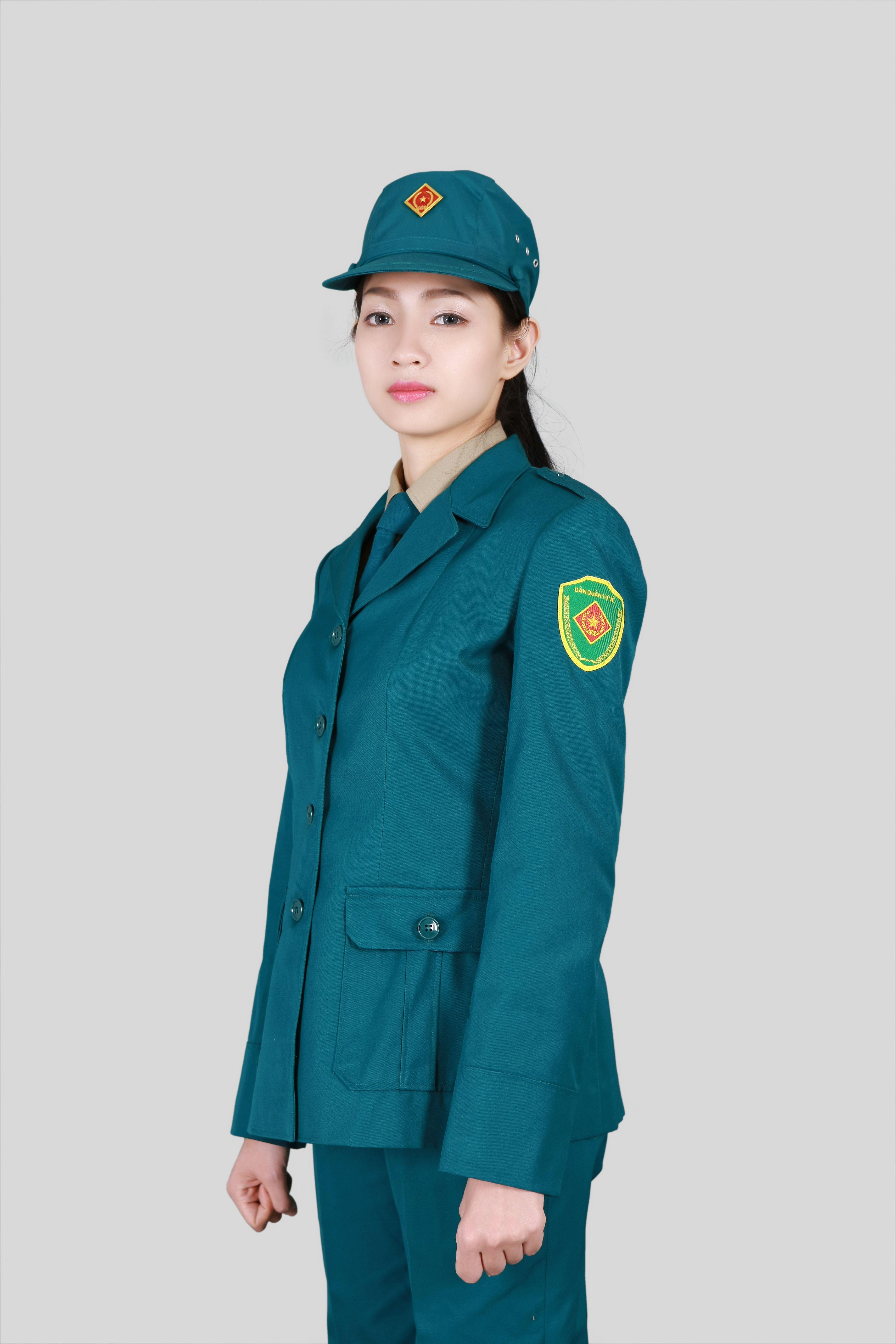 Đồng phục dân quân tự vệ nữ tại Hà Nội - Quần áo bảo hộ Mantis