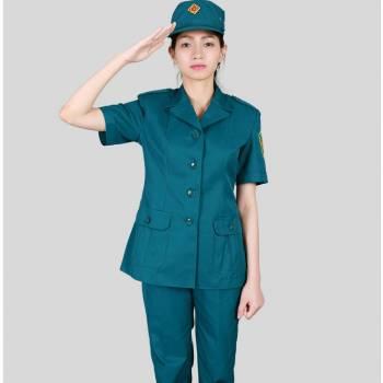 Quần áo dân quân tự vệ nữ, mùa hè